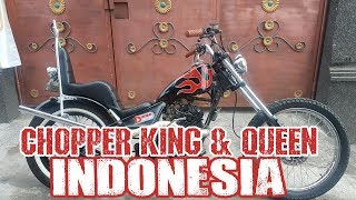 Thunder Custom Chopper - King And Queen