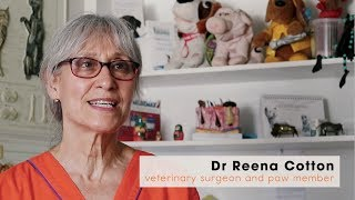 Veterinarian, Dr Reena Cotton, signs up as a #PawMember