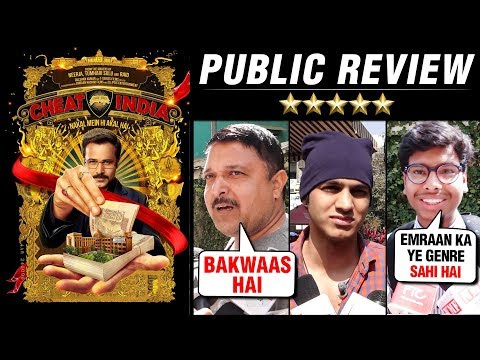 Emraan Hashmi Why Cheat India HONEST Public REACTI