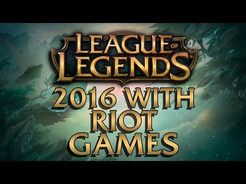 2016 WITH RIOT GAMES - MONTAGE from League of Legends REWIND 2016