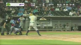 Boog Powell Homers For The Biscuits