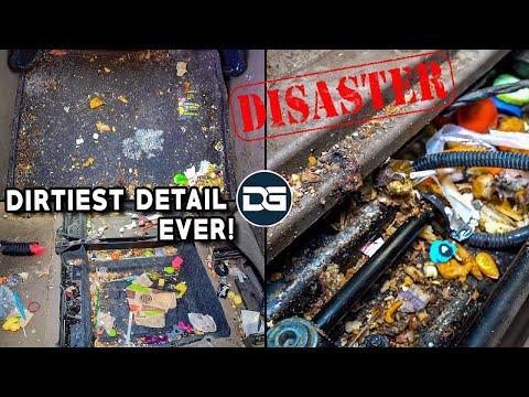 , title : 'Deep Cleaning The NASTIEST Vehicle I've Ever Seen! | Insane 20 Hour Detailing Transformation
