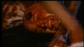 LAUGHING DEAD (1998) First Human Slaughterhouse Scene