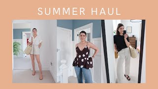 Comfy & Casual Summer Wardrobe Haul   The Anna Edit