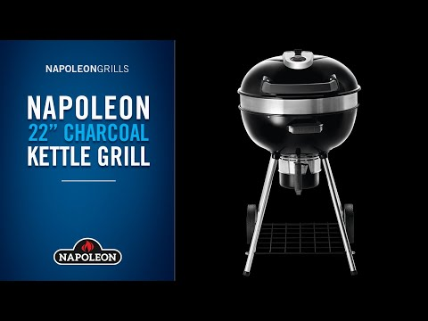 Napoleon PRO Charcoal Kettle Grill Overview