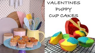 DIY VALENTINES PUPPY CUP CAKES  - DIY Dog Food by Cooking For Dogs