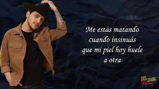 Ojalá Fuera Cierto - Christian Nodal (Letra/Lyrics)