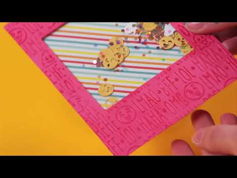 DIY Birthday Shaker Card with Lindsey Serata