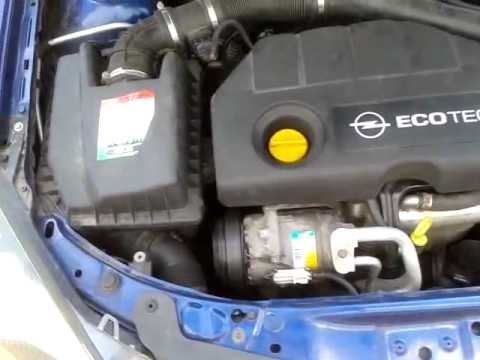 Opel Astra H 1,7 CDTI motor problem?