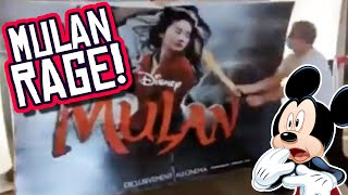 Disney Mulan Display THRASHED by Angry Theater Owner Over Disney Plus VOD!