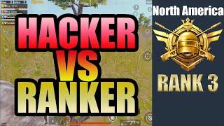 NA│HACKER VS RANKER│SQUAD RANK 3│RANK MATCH IN NA│PUBG MOBILE