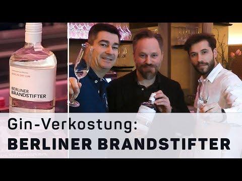 Berliner Brandstifter – Berlin Dry Gin mit regionalen Botanicals in der Verkostung #25
