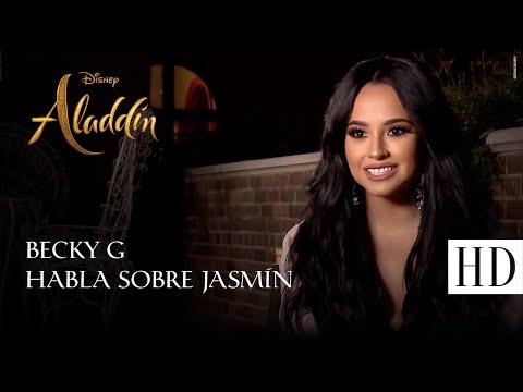 Aladdin, de Disney - Becky G habla sobre el personaje de Jasmin