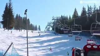 preview picture of video 'Stacja narciarska Suche - Poronin'
