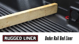 In the Garage™ with Performance Corner®: Rugged Liner Under Rail Bedliner