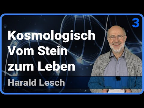 Kosmologisch (3/3) • Vom Stein zum Leben • Live im Hörsaal | Harald Lesch