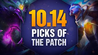 10 New OP Picks and Builds of the Patch in 10.14 for Solo Queue
