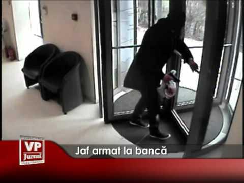 Jaf armat la bancă