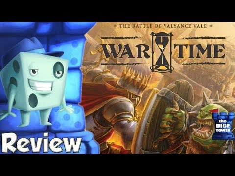 Wartime: The Battle of Valyance Review - with Tom Vasel