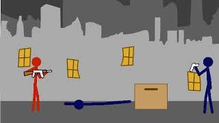 Анимация #6. Красный против синих.   Рисуем мультфильмы 2.