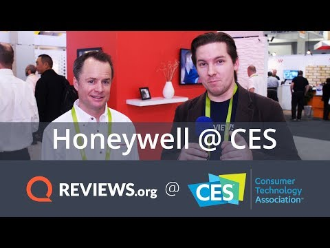 Honeywell Smart Home Security System – Live Look | CES 2018