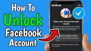How to unlock Facebook account when temporary locked | How to unlock Facebook account (2020)