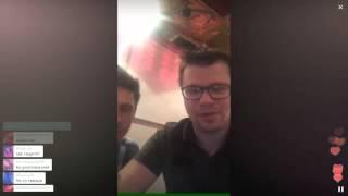 Пятый выход Харламова в Перископ и 11 тысяч в он-лайне / Перископ Харламова 2016 на TopPeriscope.Ru