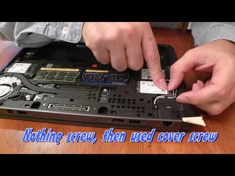 Latitude E7240 upgrade SSD 250GB