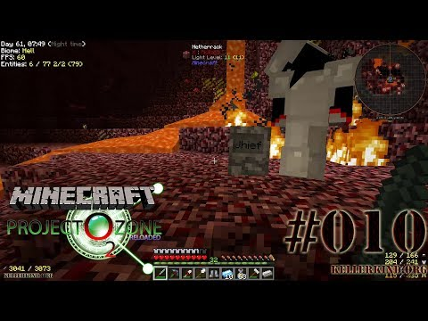 Hier liegt Jhief – Hallo Zombie-Jhief ★ #10 ★ We Play Minecraft Modded Project Ozone 2 Reloaded [HD|60FPS]