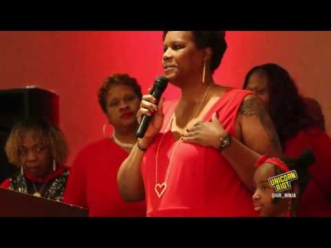 Yolanda McNair (Adaisha Miller's mom): 2020 In Remembrance of Me Banquet