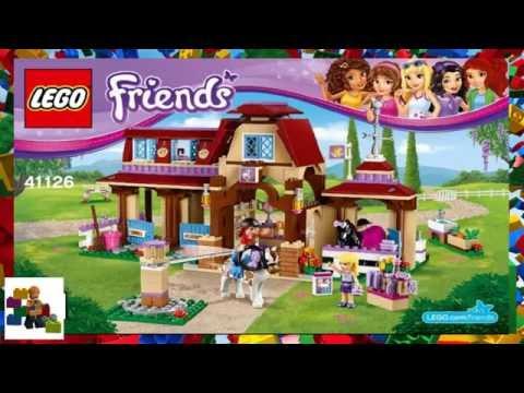 Lego Instructions Lego Friends 41126 Heartlake Riding Club Book 2