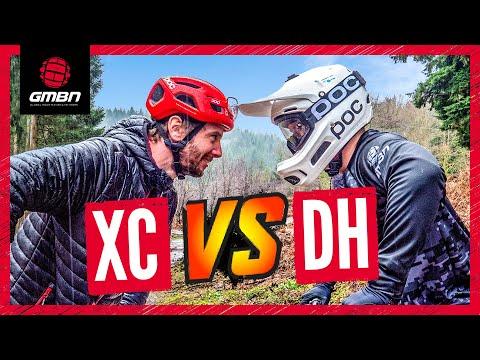 Cross Country Mountain Bike Vs Downhill Bike   Blake & Rich Go Head To Head