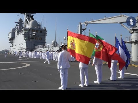 French Navy Takes Command of EUROMARFOR