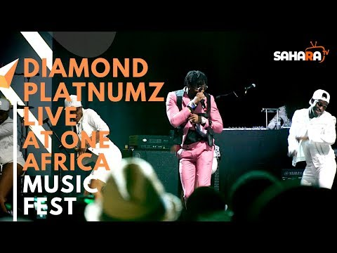 DIAMOND PLATNUMZ Of Tanzania Performs Live At #ONEAFRICAMUSICFEST NYC 2019