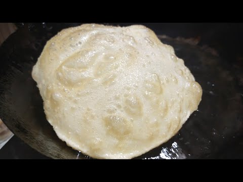 Poori Recipe/ Perfect  Puffy ,Soft and Round Poori Recipe/ by cooking with our family