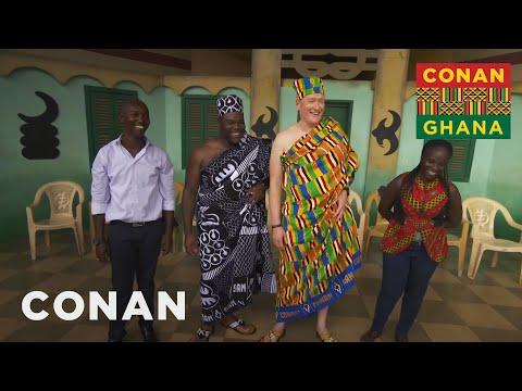 Conan v Ghaně #6: Návštěva královské rodiny