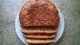 Бездрожжевой хлеб в мультиварке от MamaTwice