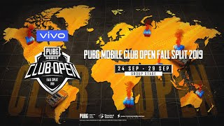 [Hindi] PMCO South Asia Group Stage Day 1 | Vivo | Fall Split | PUBG MOBILE CLUB OPEN 2019