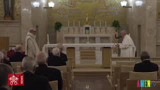 Đức Thánh Cha cảm ơn cha giảng phòng cho Giáo Triều Roma