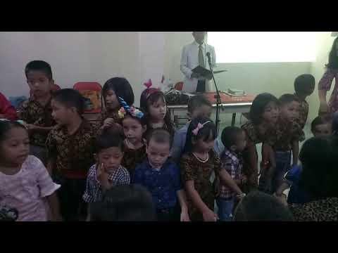 "Meddley Kingkong,  Setinggi""nya langit dan Burung pipit Minggu Ceria SM Jakarta Kota Teluk Gong"