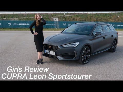 Larissa fährt den neuen CUPRA Leon Sportstourer e-Hybrid (245 PS / 400 Nm) [4K] - Autophorie