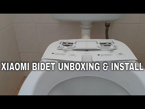 How to install a bidet – Xiaomi Mijia SmartMi smart heated toilet seat