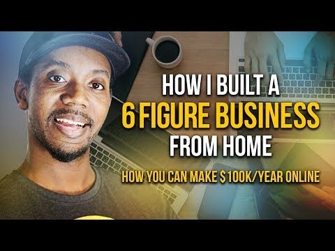 HOW I BUILT A 6 FIGURE STAY AT HOME BUSINESS $100K/YEAR