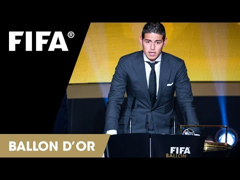 James Rodriguez: FIFA Puskas Award Reaction