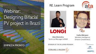 Webinar: Diseño de un proyecto de energía solar fotovoltaica bifacial en Brasil