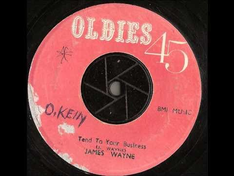 James Wayne – Tend To Your Business – oldies 45 records – jump blues