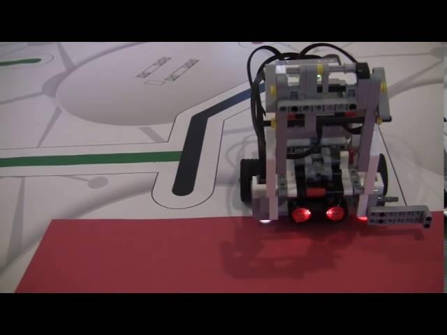 LEGO Education EV3 Программирование 2.3 | Выход из программы следования по линии с датчиком цвета