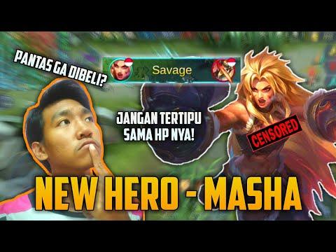 NEW HERO MASHA! HERO DGN 3 BAR HP TAPI LEMBEK KAYA DIGGIE? PANTAS DIBELI? - Mobile Legends Bang Bang