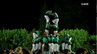 preview picture of video 'Castellers de Vilafranca -  td8f   La Pobla de Segur'