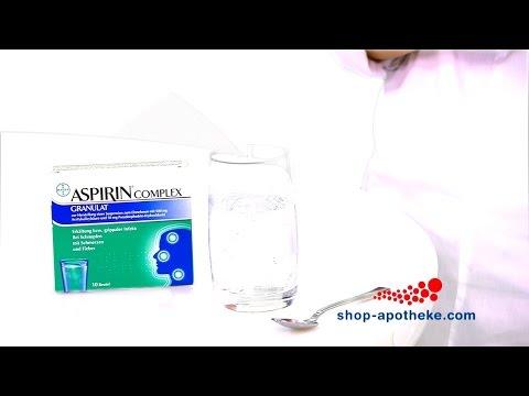 Mit Aspirin Complex trotz Erkältung schnell wieder gesund und fit